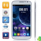"DOOGEE VOYAGER DG300 MTK6572 Dual-Core Android 4.2.2 WCDMA Bar Phone w/ 5.0"" IPS, FM and GPS - White"