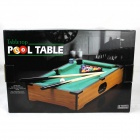 Desktop-Mini Mini Pool Snooker Table Game Set - Grün (Größe M)