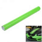 3D Air Permeable Carbon Fiber DIY Body Sticker Film - Green  (63 x 300cm)