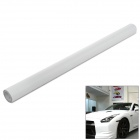 3D Air Permeable Carbon Fiber DIY Body Sticker Film - White  (63 x 300cm)