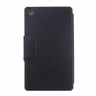 Protective PU leather Case Cover Stand w/ Auto-Sleep for Google Nexus 7 II - Black