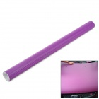 3D Air Permeable Carbon Fiber DIY Body Sticker Film - Purple (63 x 300cm)