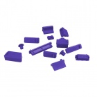 Enkay Universal anti-pó Plugs para Lenovo / HP / Dell / Acer / Asus Laptop - Purple (13 PCS)