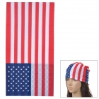 Free Soldier 1566 US National Flag Pattern Quick Drying Magic Cycling Head Scarf