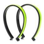 SALZMANN 43442 Cycling 3M Reflective Trouser Bands - Yellow (2 PCS)