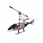 Longhui L609 Metal Frame Rechargeable 3.5-CH R/C Indoor / Outdoor Helicopter - White + Red + Black