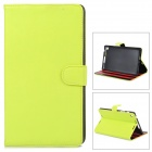 Protective PU Case w/ Stand for Google Nexus 7 Second - Yellowish Green