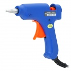 20W Hot Melting Glue Gun - Blue + Orange (Size S)