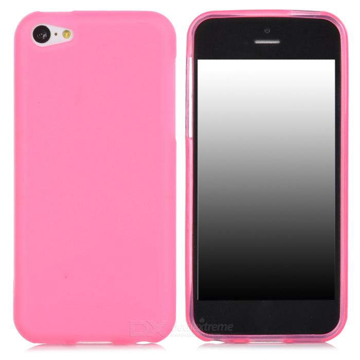 Protective TPU Back Case for Iphone 5C - Pink