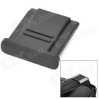 Universal Protective ABS Hot Shoe Cover for Nikon / Canon / Olympus / Pentax SLR - Black