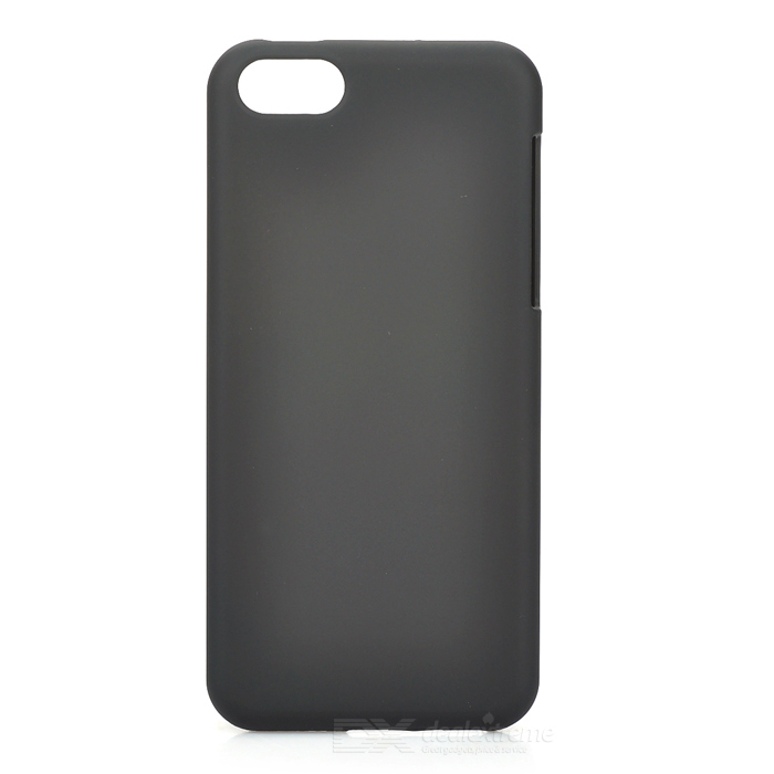 цены Stylish Protective Plastic Back Case for Iphone 5C - Black