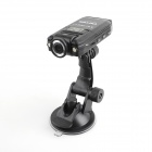 PORTWORLD-K2001 5.0MP Wide Angle HD 1080P Car DVR w/ Motion detection - Black