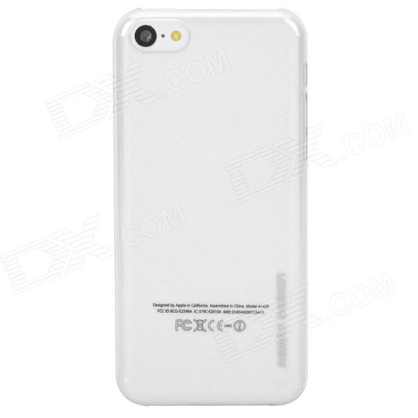 REMAX Ultra-thin Protective ABS Back Case for Iphone 5C - Transparent remax ultra thin protective abs back case for iphone 5c transparent
