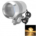 M1306 10W 1000lm Waterproof Yellow Light Motorcycle LED Bulb w/ CREE XM-L U2 - Silver
