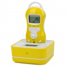 "CZ-D6000 1.5"" LCD Screen Wireless Audio Baby Monitor w/ Temperature Sensor - White + Blue"