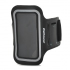 Wellhouse WH-00602 Sports Gym PU + Neoprene Armband Case for Iphone 5 - Black