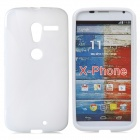 Protective TPU Back Case for Motorola X Phone - White