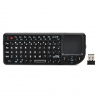 TR-MWK Mini Wireless 72-Key Keyboard Mouse w/ Laser Light for Laptops / TV + More - Black
