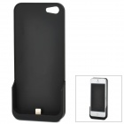 IP5 2-in-1 Wireless 5V 700mA Back Case Battery Charger - Black + Grey