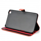 Protective PU Leather Case for Samsung Galaxy Tab 3 8.0 T310 - Orange