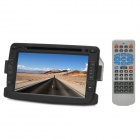 "lsqSTAR ST-C157 7"" Car DVD Player for Renault Duster w/ GPS, TV, RDS, Bluetooth, FM, AM, TF - Black"