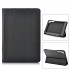 Stylish Protective PU Leather Case for CHUWI V88 - Black