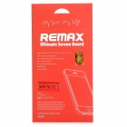 REMAX PET Micro Crystal Screen Guard for Samsung GALAXY Note 3 N9000 - Transparent