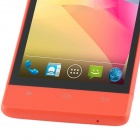 "H3039 MTK6572 Dual-core Android 2.3.6 GSM Bar Telefone w / 4.0 "", Quad-Band, FM e GPS - Red"