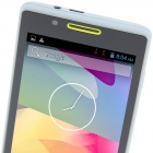 "H3039 MTK6572 Dual-core Android 2.3.6 GSM Bar Phone w/ 4.0"", Quad-Band, FM and GPS - Grey + Yellow"