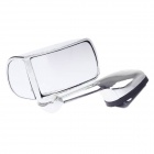 "HD HD-076L 4.5"" Automobile Head Left Auxiliary Rear-view Mirror - Silver"