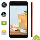 "Xiaocai X9 Quad Core Android 4.2 WCDMA Bar Phone w / 4,5 ""IPS OGS, 1GB RAM, 4GB ROM, GPS - Pink"