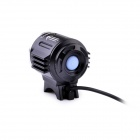 TrustFire TR-D011 1800lm 3-Mode Cool White Bikelight w/ 3 x Cree XM-L2 T6 - Black (4 x 18650)