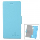 NILLKIN  Fresh Series Protective PU Leather + PC Case for Sony Xperia M - Blue