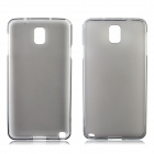 Stylish Protective TPU Back Case for Samsung Galaxy Note 3 N9000 - Grey