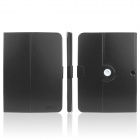 ENKAY ENK-7035 360' Rotation Protective PU Leather Case for Samsung Galaxy Tab 3 10.1 P5200 - Black