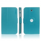 ENKAY ENK-7034 360' Rotation Protective Case Stand for Samsung Tab 3 7.0 T210 / T211 / P3200 - Blue