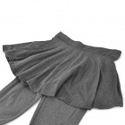 Cotton Wool Flock Render Culottes - Grey