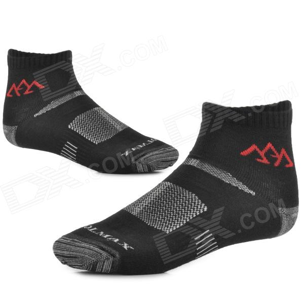 SANTO Outdoor Coolmax Quick-drying Socks for Men - Black (Pair)
