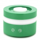 XM05 USB Powered Aroma Diffuser Ultrasonic Humidifier w/ RGB Lamp for Car -Green + White