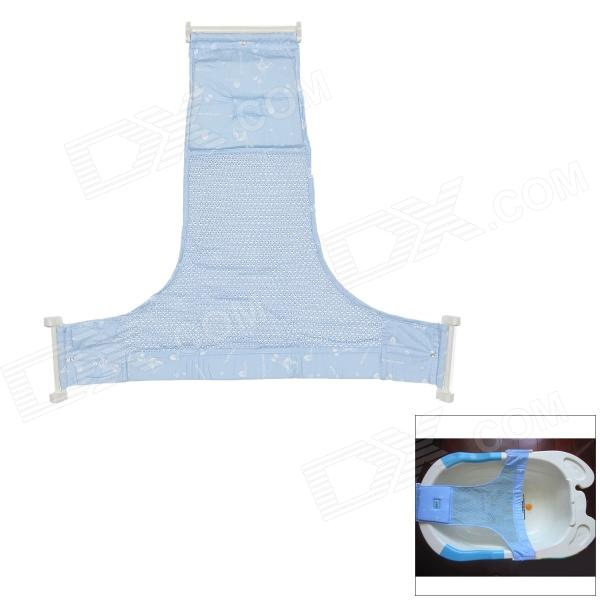 Cotton Non-slip Baby Bath Bed for 0~2 Years Old Babies - Blue