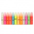 Creative Colorful Luminous Pen / Nite Writer Painting Pen Set