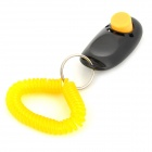 Dog Pet Button Clicker Training Trainer Aid Guide - Black
