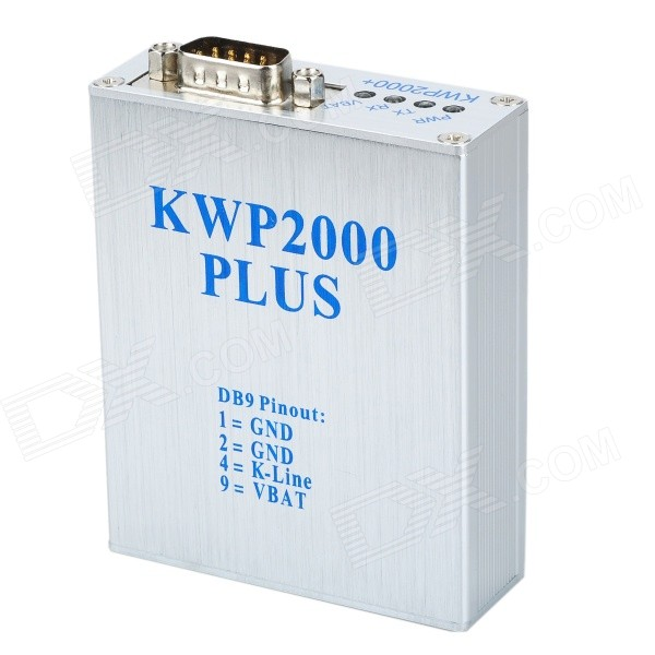 KWP2000 + ECU Plus Flasher OBD2 Car ECU Programming