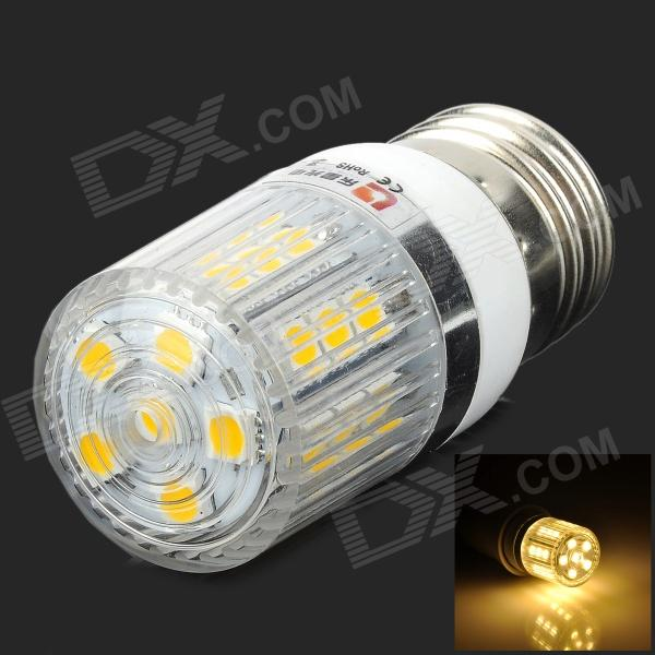 LEXING 3W 200lm 3500K 27-5050 SMD LED Corn Lamp (220~240V) lexing lx r7s 2 5w 410lm 7000k 12 5730 smd white light project lamp beige silver ac 85 265v