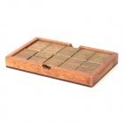 Assembly Wooden Chocolate Magic Box - Brown