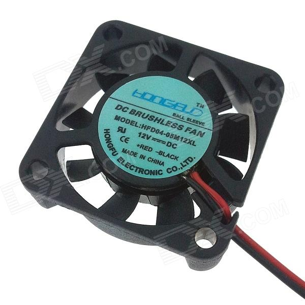 HONGFU RepRap Prusa Mendel DIY 3D Printer Custom Part Fan - Black (12V / 100cm-Cable) кабошон соколиный глаз 18 25 мм