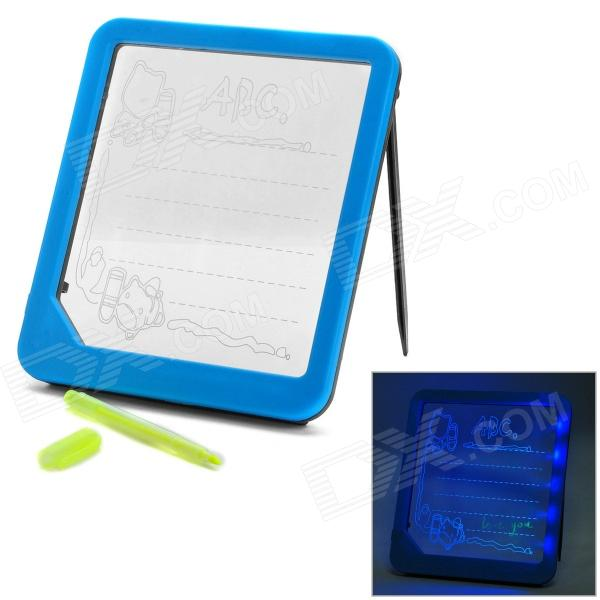 A035 LED Writing Message Board - Blue + Black (3 x AA)