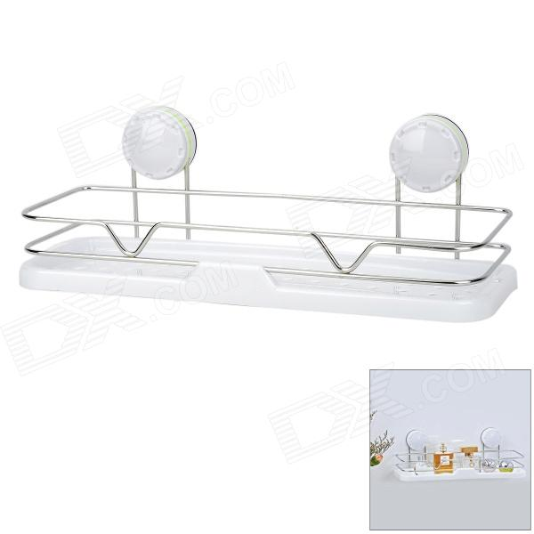 CHELLY 304 Stainless Steel Bathroom Shelf W Suction Cup