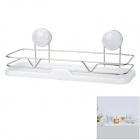 CHELLY 304 Stainless Steel Bathroom Shelf w/ Suction Cup