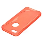 TPU protetora volta caso para Iphone 5 - Red